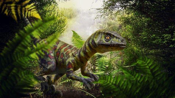 Los dinosaurios compartieron hábitat con muchas plantas, como las palmeras.